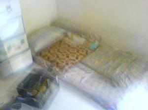 ini tempat tidur aku